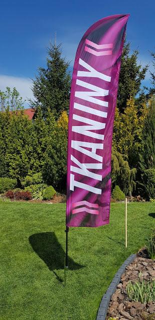 flagi reklamowe z nadrukiem